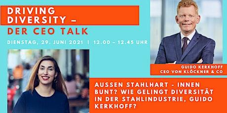 Driving Diversity - Der CEO Talk | Tijen trifft Guido Tickets