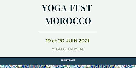 [Casablanca - Aura Yoga]  - Voyage autour des 7 chakras billets
