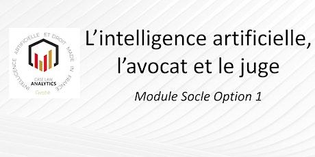 L'intelligence artificielle, l'avocat et le juge billets
