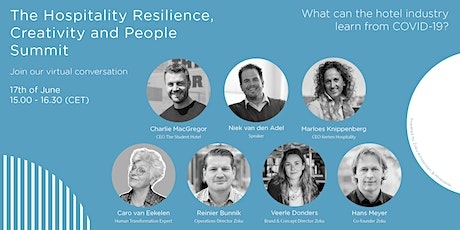 The Hospitality Resilience, Creativity and People Summit tickets