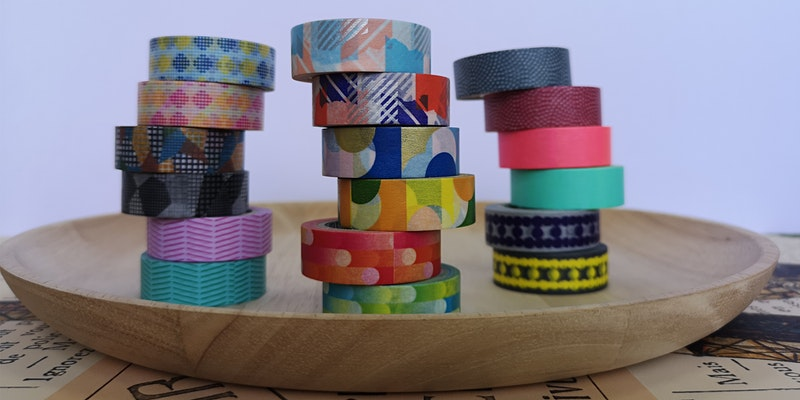 Fun with MT Tape Kids Special: Keyboard Decorating Online Demo