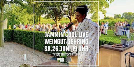 Jammin'Cool live im Weingut Gehring 26.Juni2021 Tickets