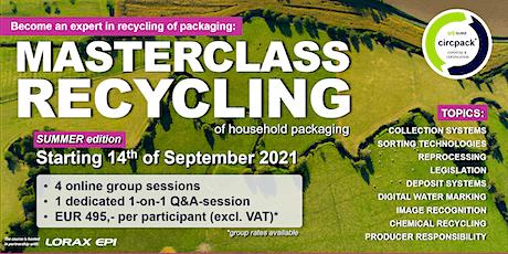 Masterclass Recycling - English Edition tickets