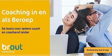 Try out Coaching in en als Beroep tickets