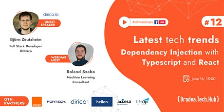 Dependency Injection with Typescript and React tickets