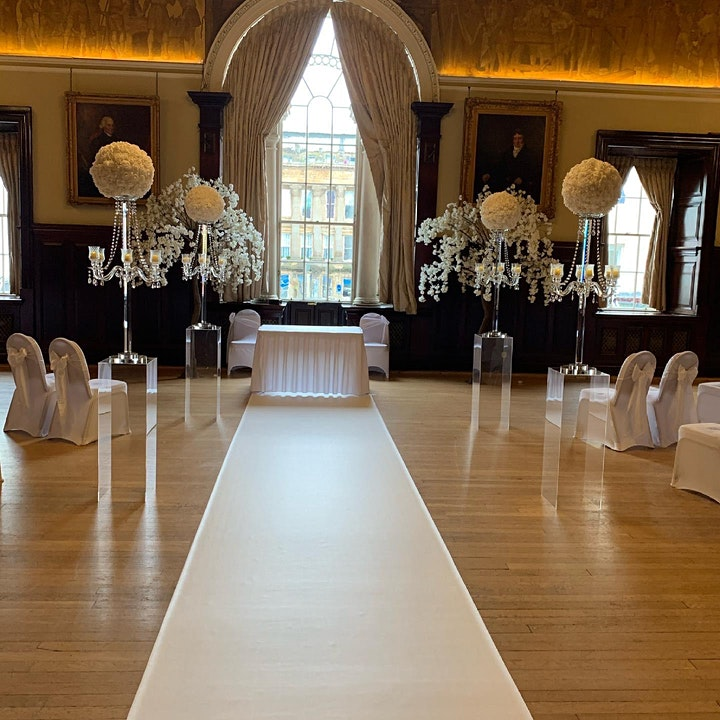 Wedding Showcase Trades Hall Glasgow by Blushing Brides wedding shows image