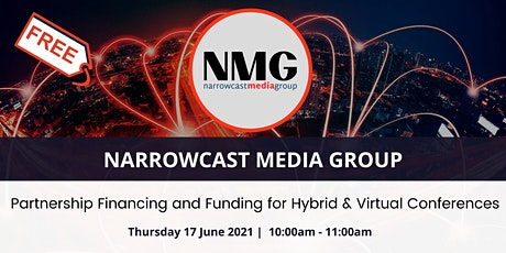 Partnership Financing and Funding for Hybrid & Virtual Conferences tickets