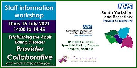 Adult Eating Disorder Provider Collaborative Staff Information Workshop tickets