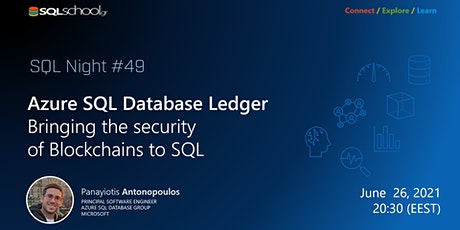 Azure SQL Database Ledger – Bringing the security of Blockchains to SQL tickets