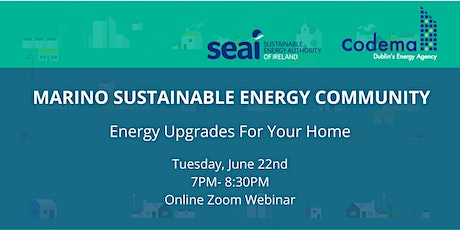 Marino Sustainable Energy Community: Energy Upgrades For Your Home Tickets