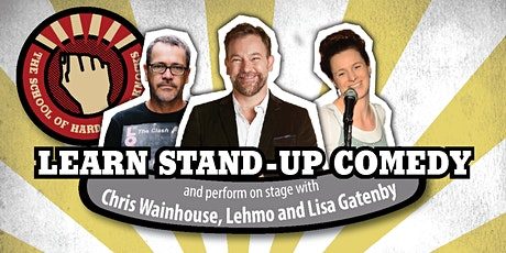 Learn stand-up comedy in Melbourne this August with Lehmo tickets
