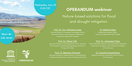 Nature-based Solutions for flood and drought mitigation tickets