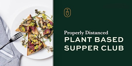 Topsoil Supper Club August Plant Based Dinner tickets