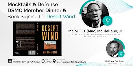 DSMC Mocktails & Defense | Member Dinner & Book Signing for Desert Wind tickets