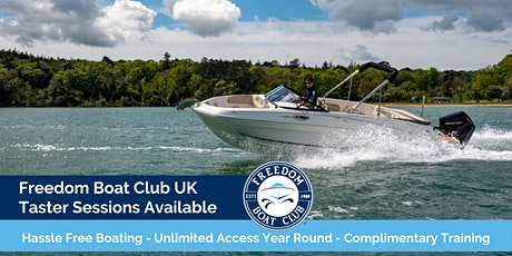 Freedom Boat Club UK - Complimentary Taster Sessions tickets