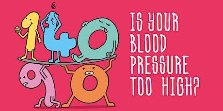 MANAGING HIGH BLOOD PRESSURE tickets