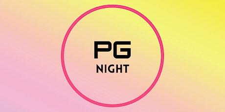 PG Evening tickets