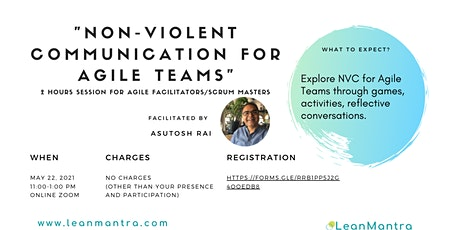 Nonviolent Communication for Agile Teams tickets