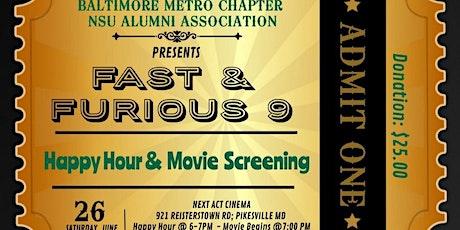 Baltimore Metro NSUAA Fast & Furious 9 Movie Night tickets