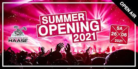 SUMMER OPEN AIR 2021 ! Alle sind dabei ! Die erste Party des Jahres !! Tickets