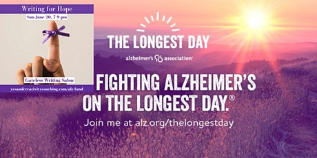 Writing for Hope: The Longest Day Alzheimer's Fundraiser tickets
