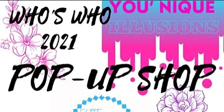 Who's Who 2021 Pop Up Shop tickets