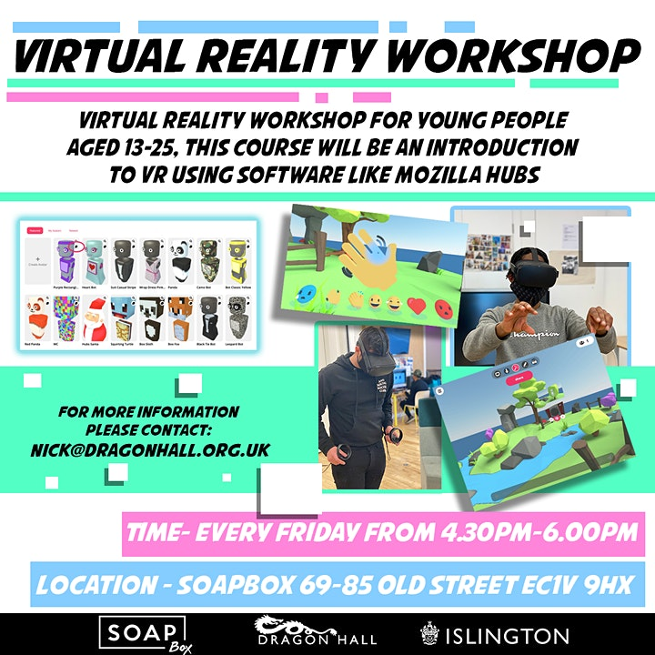 Virtual Reality Workshop image