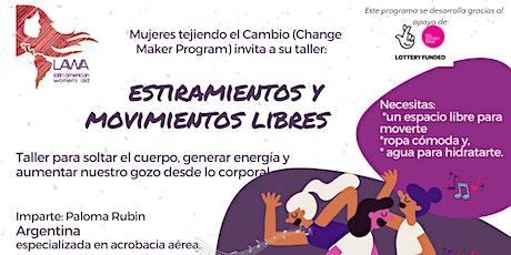 Tercer taller de Estiramientos y Movimientos libres con Paloma Rubin entradas