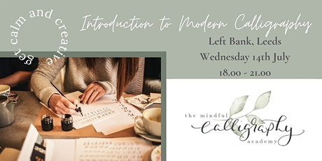 Introduction to Modern Calligraphy - Left Bank, Leeds tickets