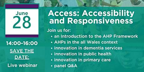 Allied Health Professionals (AHP) Programme Webinar tickets
