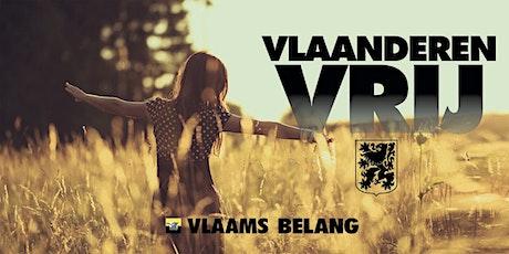 Vlaanderen Vrij meeting - Vlaams Belang billets