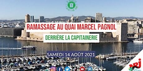 Ramassage au Quai Marcel Pagnol  #LoveTonQuartier billets