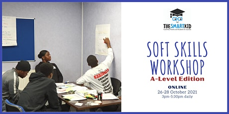 Soft Skills Workshop for A-level Students Oct 2021 tickets