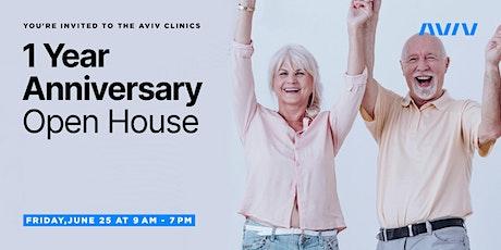 Aviv 1 Year Anniversary Open House tickets