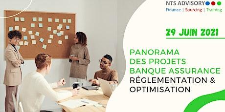 Panorama des projets Banque assurance - Réglementation & Optimisation tickets