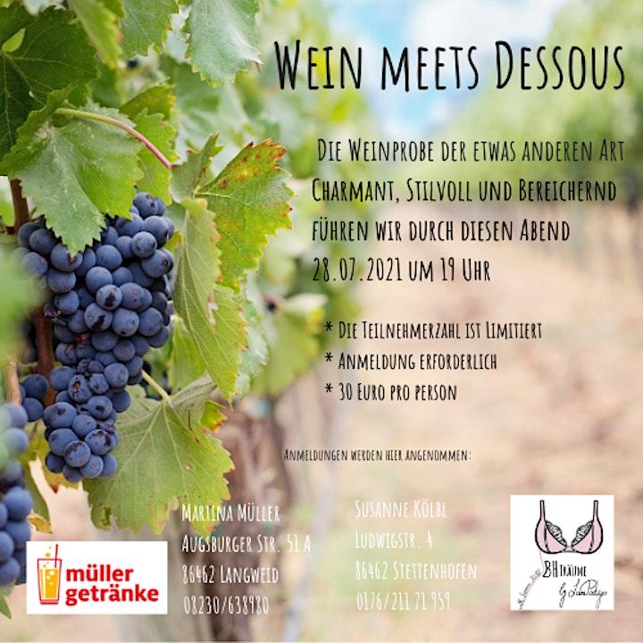 Wein meets Dessous: Bild