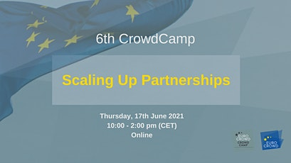 6th CrowdCamp: Scaling Up Partnerships tickets