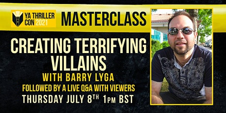 Creating Terrifying Villains -  A Masterclass with Barry Lyga tickets