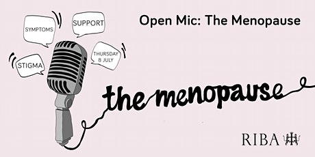 Open Mic: The Menopause tickets