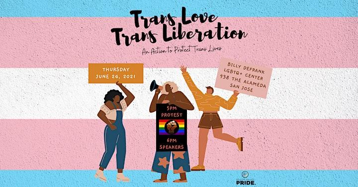 Trans Love Trans Liberation RALLY image