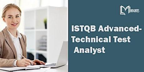 ISTQB Advanced - Technical Test Analyst Virtual Training in Cuernavaca tickets