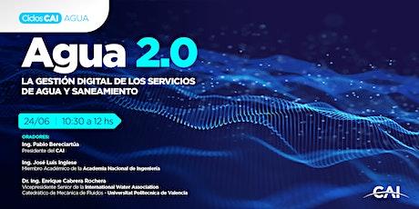 #CiclosCAI: Agua 2.0 La gestión digital de los servicios de agua y saneamie entradas