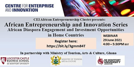 Africa entrepreneurship and innovation Series tickets