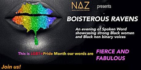 Boisterous Ravens LGBT+ Pride 2021 tickets
