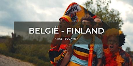 België vs Finland - Plage Abbaye tickets