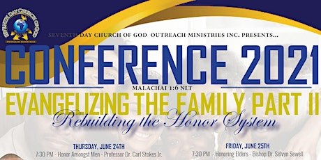 CONFERENCE 2021:  EVANGELIZING THE FAMILY - PART II tickets