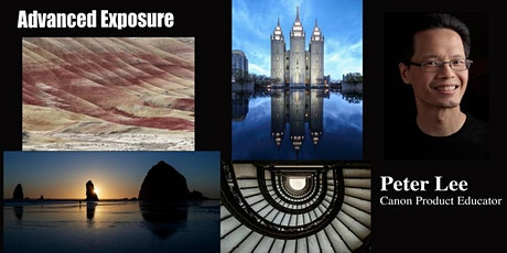 Advanced Exposure with Canon - Live Online tickets