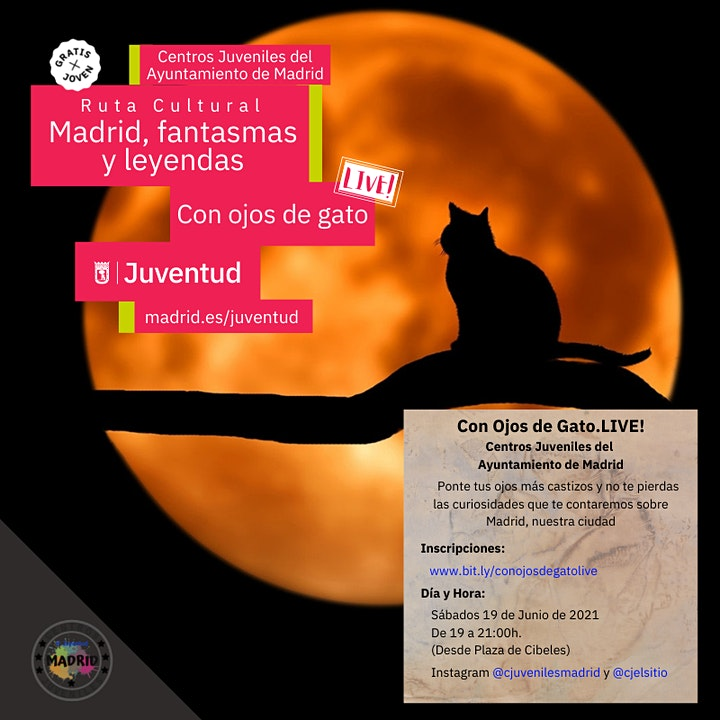 Imagen de Con Ojos de Gato. Live! Madrid, leyendas y fantasmas