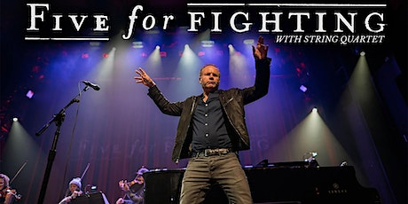 Five For Fighting with String Quartet tickets