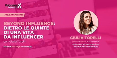 Dietro le quinte di una vita da influencer con Giulia Torelli @rockandfiocc biglietti